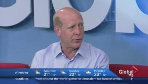 Kevin Martin in Winnipeg for Celebrity Human Race