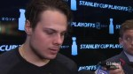 Auston Matthews on Leafs' being eliminated from Stanley Cup playoffs