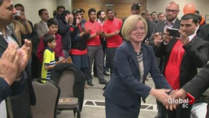 Historic vote in Alberta