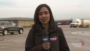 Albertans flee wildfires overnight
