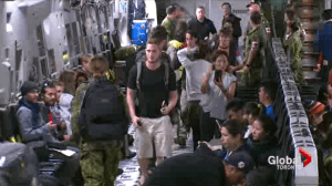 Dozens of Canadian families relieved as loved ones return home from Nepal