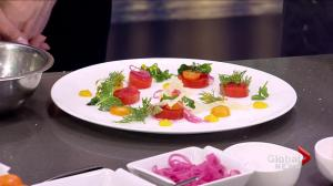 Sonora Resort's Kumquat Cured Salmon