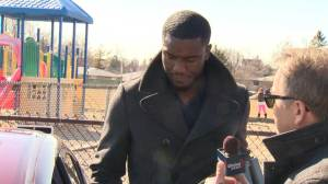 Raw Video: Pot-smoking teacher refuses Global News questions