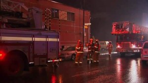 Montreal radio station targeted in arson attack