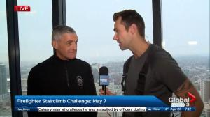 Calgary's fire chief discusses the Firefighter Stairclimb Challenge