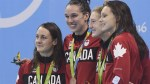 Canadian swimmer makes a splash in Rio