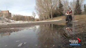 Snow melt causing concern for those with mobility issues