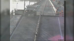 Distracted driver jumps rising drawbridge in Palm Beach