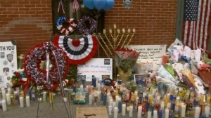 RAW: Memorial for slain NYPD officers grows