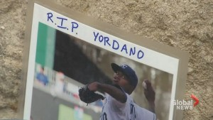 Fans pay tribute to Yordano Ventura as memorial grows outside Kaufman Stadium in Kansas City