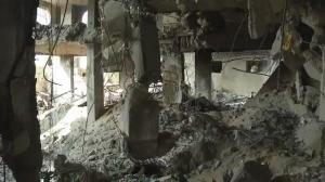 Raw video: Aftermath of Israeli airstrike in Rafah