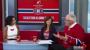 Montreal Canadiens alumni support Big Brothers Big Sisters Saskatoon