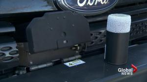 Delta police unveil new crime fighting tool: GPS dart