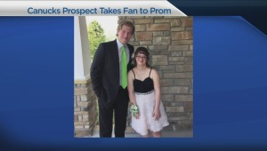Canuck prospect Brock Boeser takes fan with Down syndrome to prom