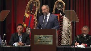 Mulcair promises social transfer funding cap removal and inquiry into missing and murdered Indigenous women and girls