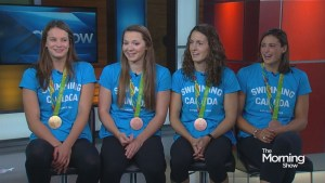 Four-time Olympic medallist Penny Oleksiak on her amazing success in Rio