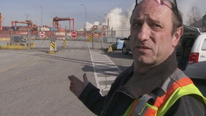 First witness on scene at fire in Port of Vancouver