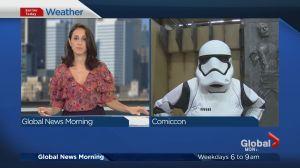 Global News Morning weather forecast: Friday, July 7