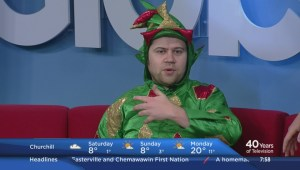 Piff The Magic Dragon performing in Winnipeg