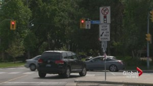Drivers still turning right on red in Leaside where child killed