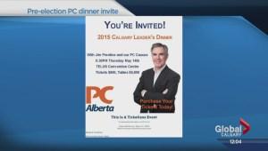 Prentice to attend PC leadership dinner