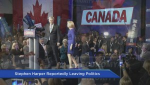 Stephen Harper to leave the political scene
