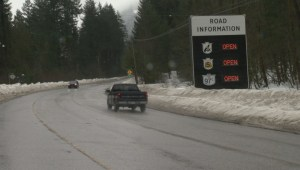 Chaos on the Coquihalla Saturday morning