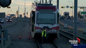 Man hit by CTrain in northeast Calgary suffers critical injuries