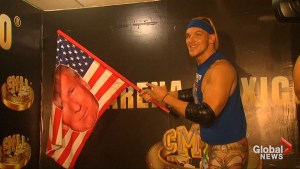 American wrestler antagonizes Mexican wrestling crowds as Donald Trump supporter