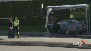 Five people injured in Burnaby crash