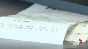 NSLC stores stop printing receipts to cut down on paper waste