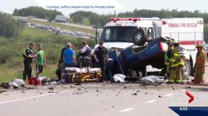 Tragic weekend on Alberta roads