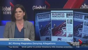 BIV: B.C. mining magnates denying allegations