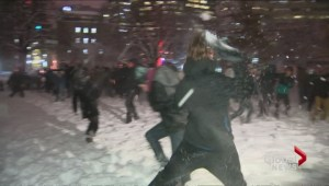 McGill snowball fight