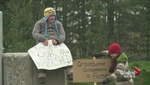 Dump Confrontation at Shawnigan Lake