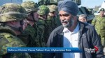 Defence Minister Sajjan set for barrage of criticism in House of Commons