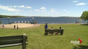 Haligonians bask is springtime sunshine