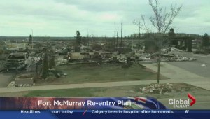 Fort McMurray wildfires: Brian Jean on Fort McMurray re-entry plan