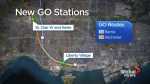 Four new GO train stations announced, two will be a part of SmartTrack