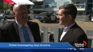 Police make arrest in north Edmonton shooting death