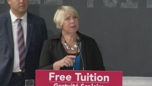 Deb Matthews discusses Liberal pledge to eliminate university and college tuition