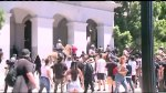 6 stabbed at rally outside California state capitol building