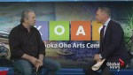 Bret Hart discusses his fundraising efforts for the KO Arts Centre