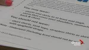 Lethbridge high school students upset with strict dress code