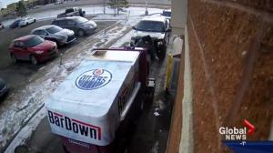 Alberta man rides Zamboni through Tim Hortons drive-thru