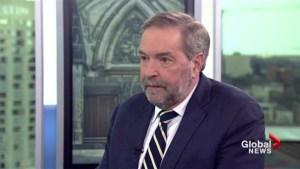 Time for Prime Minister to stand up to racist President: Tom Mulcair