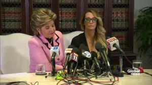Attorney Gloria Allred doesn't answer question when Trump accuser came to her