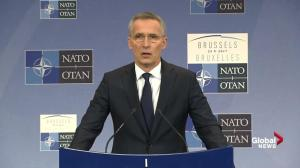 Jens Stoltenberg says President Trump supports NATO alliance