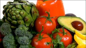 A look at growing vegetables in space