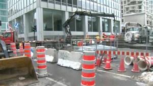 Peel Street water woes